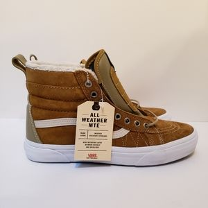 Vans Shoes - VANS Ua Sk8-Hi MTE - Cumin / Slate Green - Shoes H